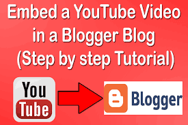 How to Embed YouTube Video On Blogger (Step by step Tutorial)