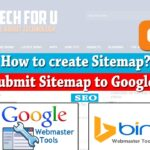 How to Create a Sitemap on blogger - Submit to Google & Bing