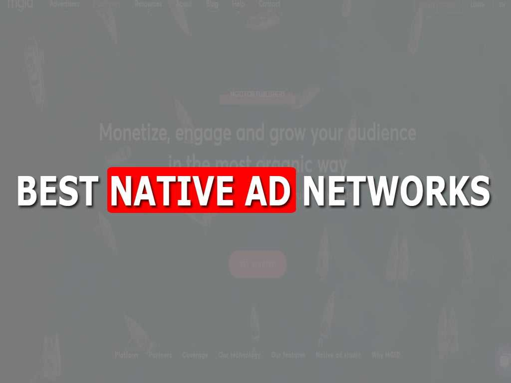 BEST NATIVE AD NETWORKS