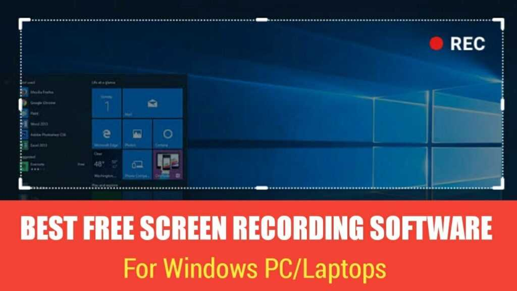 Best free screen recording software in 2019 || TECH FOR U 1