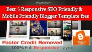 Free theme for blogger || Best Premium Blogger theme for Free 2020