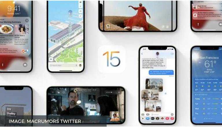 IOS 15 Released Date, features and Full list of compatible iPhones